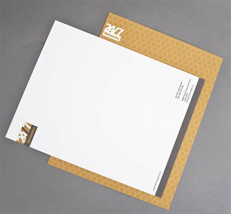 Award Winning Letterhead Corporate Identity Design Award Winning