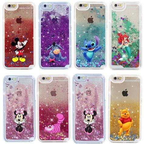 Disney Iphone 55s Casing disney glitter cover for iphone 5s se 6s 7 plus glitter