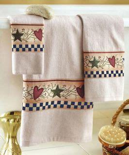 country bathroom decor sets country hearts and stars berries folk art bathroom bath
