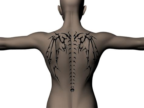 spine tattoos for guys spine images designs