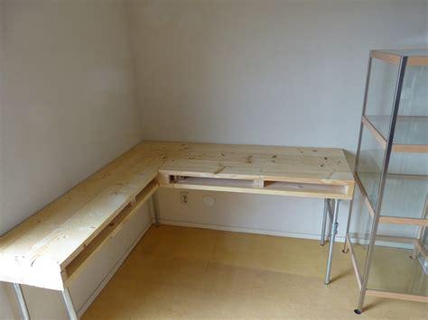 homemade desk homemade desk of scaffolding wood
