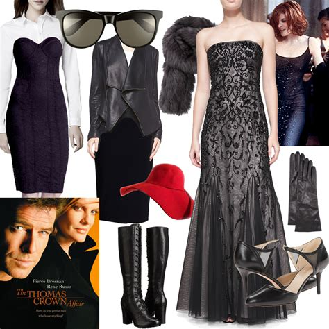 the crown affair 1999 rene russo wardrobe snag