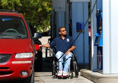 Drivers With Disabilities Fuel Section by Ordinance Aids Disabled Drivers At Gas