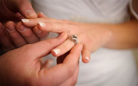 why we wear wedding rings on the quot ring finger quot reader s