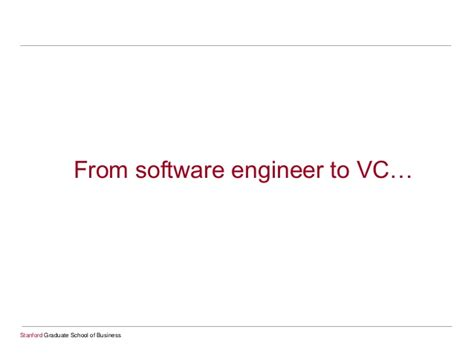 Software Engineer Stanford Mba Linkedin by How To Work With Business