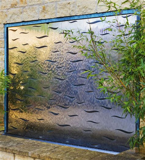 garden wall features water wall features for the garden