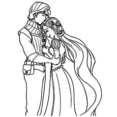 20 beautiful rapunzel coloring pages for your little