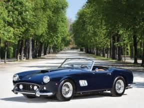 California Auction Classic 250 Gt California Spyder Could Fetch
