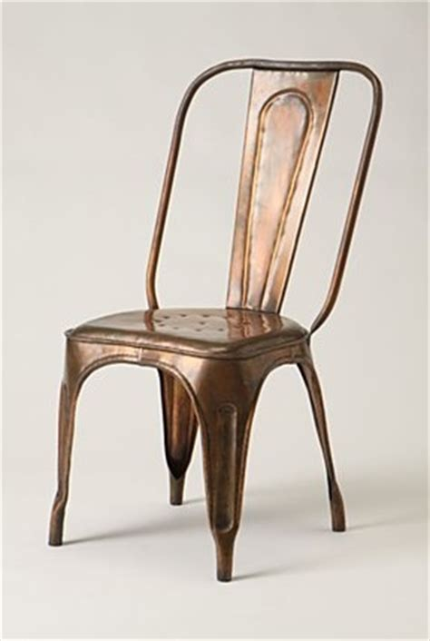 Copper Bistro Chair Furniture Redsmith Dining Chair At Anthropologie Remodelista