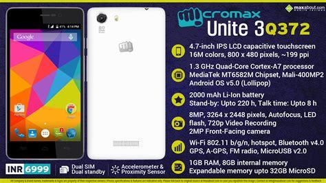 mobile themes for micromax unite 3 quick facts micromax unite 3 q372