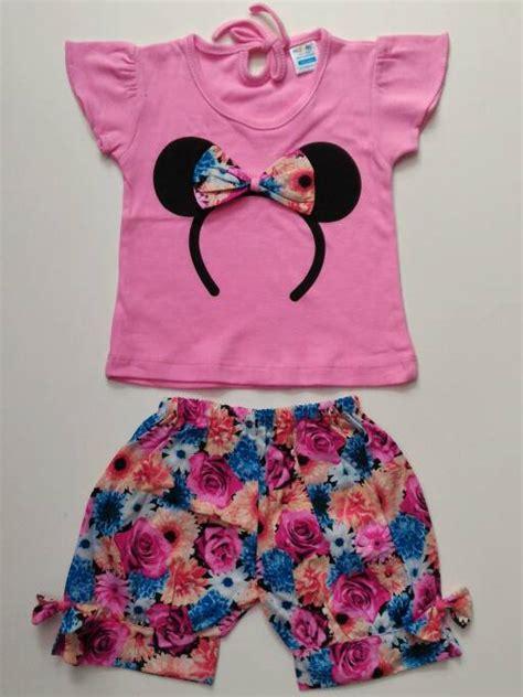 Setelan Celana Anak Mini Mouse jual setelan baju anak cewek nezumi kaos bando minnie mouse celana bunga tokonya garin barra