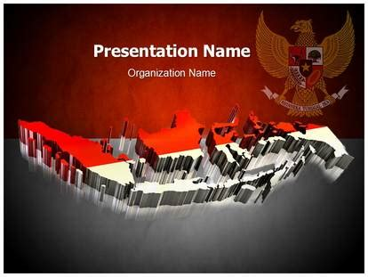 design powerpoint indonesia indonesia flag powerpoint template background