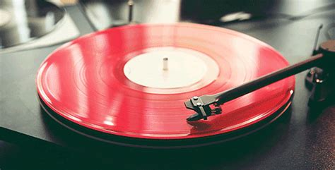 Pink Colour by Red Color Vinyl Vinyl Gif Animations Record Player Gifs