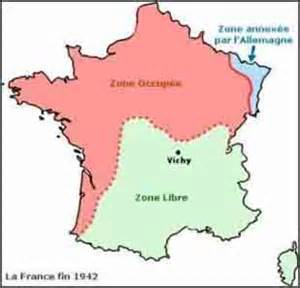 Vichy France Map by Opinions On Vichy France