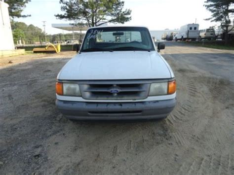 Sell used 1996 White Ford Ranger Pickup Truck One Owner in