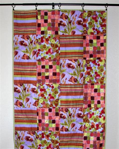 sew handmade tulip quilt