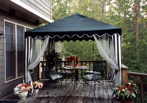 Backyard Canopy by Garden Canopy 10ft Square Portable Shade