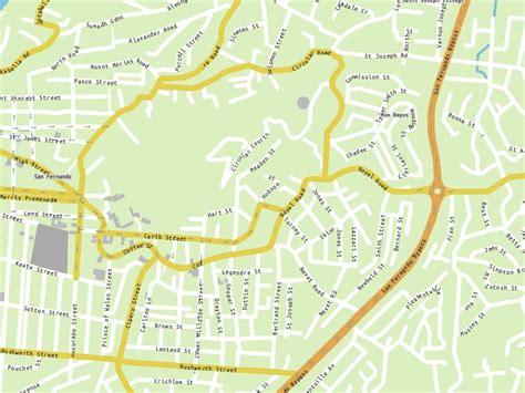 City map power station trinidad and tobago