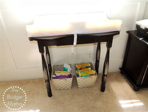 Light Wood Changing Table Project Frugal Nursery Fearon