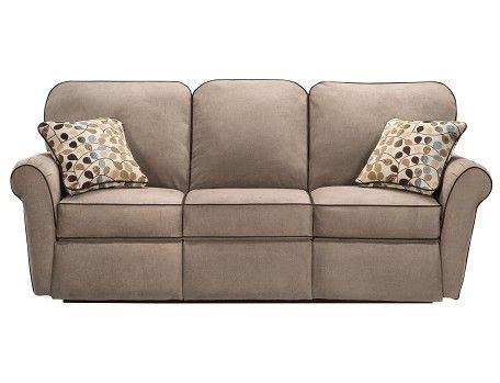 lazy boy jenna reclining sofa jenna collection taupe reclining sofa slumberland lazy