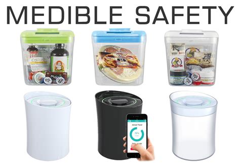 The Kitchen Safe by Medible Safety The Kitchen Safe Edibles Magazine