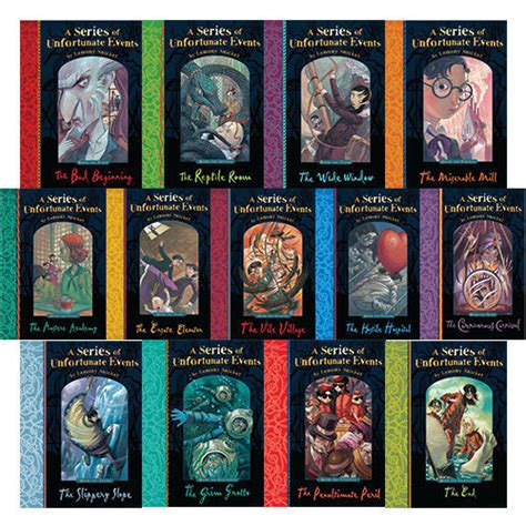 Lemony Snicket A Series Of Unfortunate Events 13 Books Set