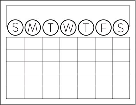 large monthly calendar template blank large printable calendars calendar template 2016