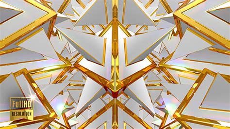 geometric pattern after effects white gold fantasy 3d geometric shapes pattern by