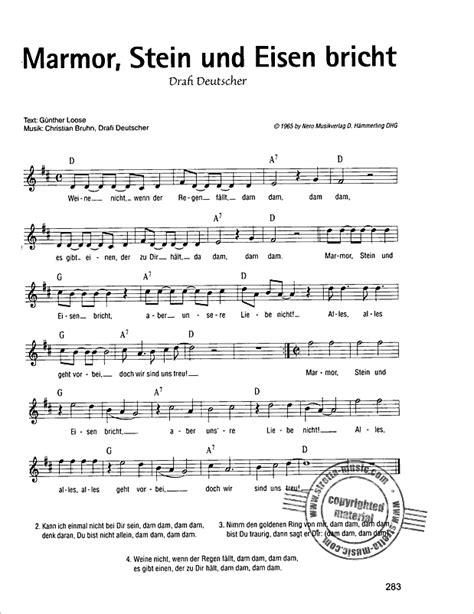 ein bett im kornfeld chords song marathon big version portofrei im stretta noten