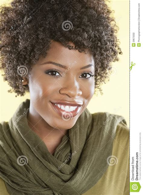 the best primer for afrcian amercian women over 40 portrait of smiling african american woman stock image