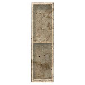 shop style selections sand mountain shower wall shelf at