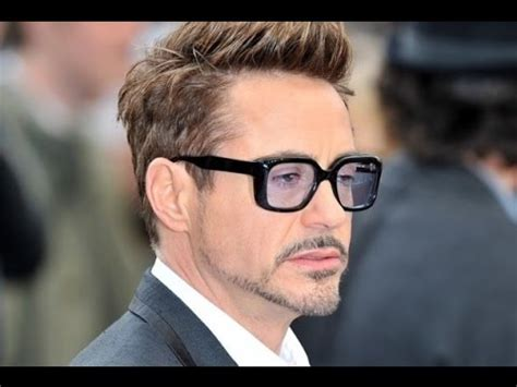tony stark hair style tony stark hairstyle www pixshark com images galleries