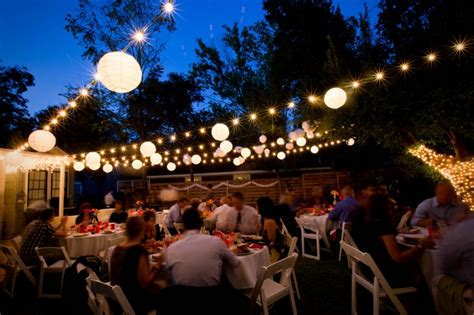 Outdoor Wedding String Lights String Lights Outdoor Wedding