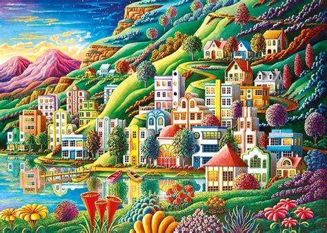 Home Decor Buffalo Ravensburger Jigsaw Puzzle Dream City Puzzel Item 194025