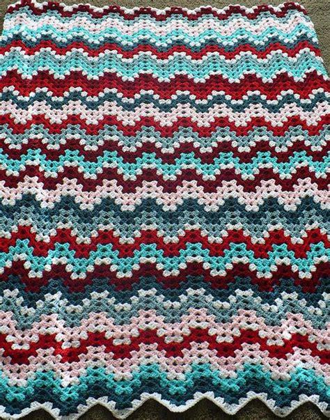 free pattern granny ripple afghan granny ripple afghan pattern by janet jarosh