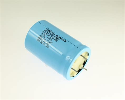 cornell capacitor 401x232u250bb8 cornell dubilier cde capacitor 2 300uf 250v aluminum electrolytic large can