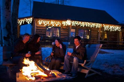 Britt Cabin by Outdoor Pit S Mores Fotograf 237 A De Britt Cabin Aspen Tripadvisor