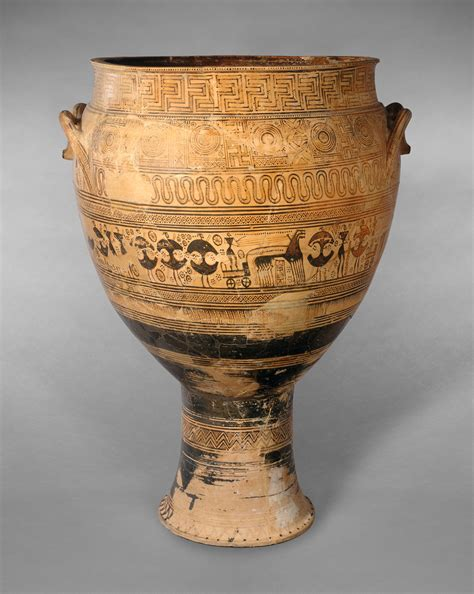 Funerary Vase Krater by Dipylon Krater Www Pixshark Images Galleries With