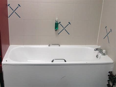 bathtub side panel the ariston white enamel bathtub with stainless steel