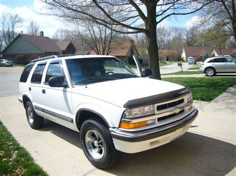chevrolet blazer lt 1998 buy used 1998 chevy blazer lt rwd in indianapolis indiana united states for us 5 000 00