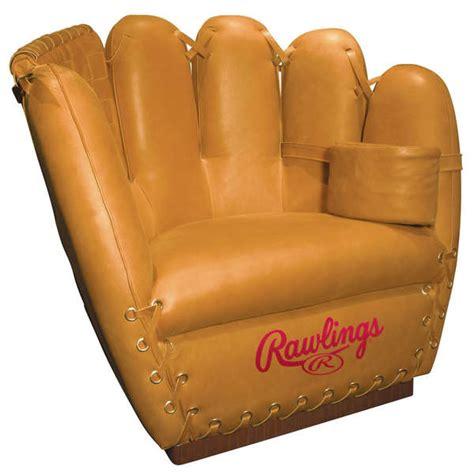 oversized catcher chairs rawlings baseball glove chair