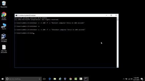 reset bios using cmd how to shutdown reboot computer in cmd youtube
