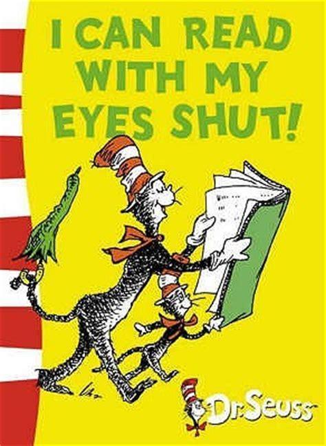 yo puedo leer con i can read with my eyes shut by dr seuss reviews