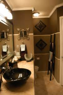 Gold Bathroom Ideas by 17 Best Ideas About Brown Bathroom On Pinterest Diy