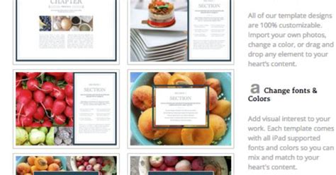 create your own cookbook template create your own cookbook ibooks author cookbook template