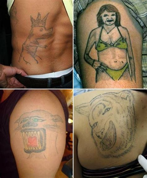 bad tattoo removal 101 best images about best worst tattoos on