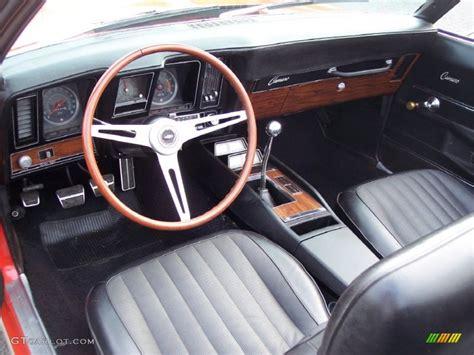1969 camaro ss interior black interior 1969 chevrolet camaro rs ss convertible