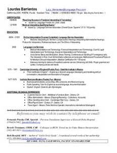 resume sle for nanny nanny objective resume cv cover letter