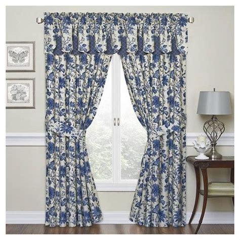 waverly indigo curtains 23 best images about curtains and valances on pinterest