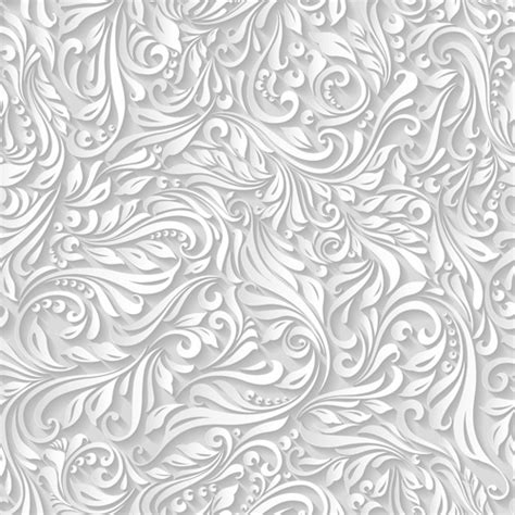 seamless floral pattern background vector graphic paper floral white seamless pattern vector vector floral